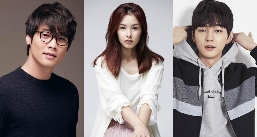 Choi Daniel Kang Hye Jung Ve Lee Won Geun Kbsin Yeni Dizisinde