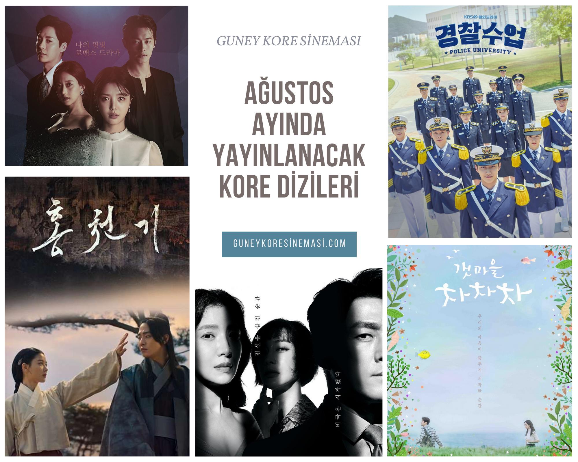 Ağustos Ayında Yayınlanacak Kore Dizileri