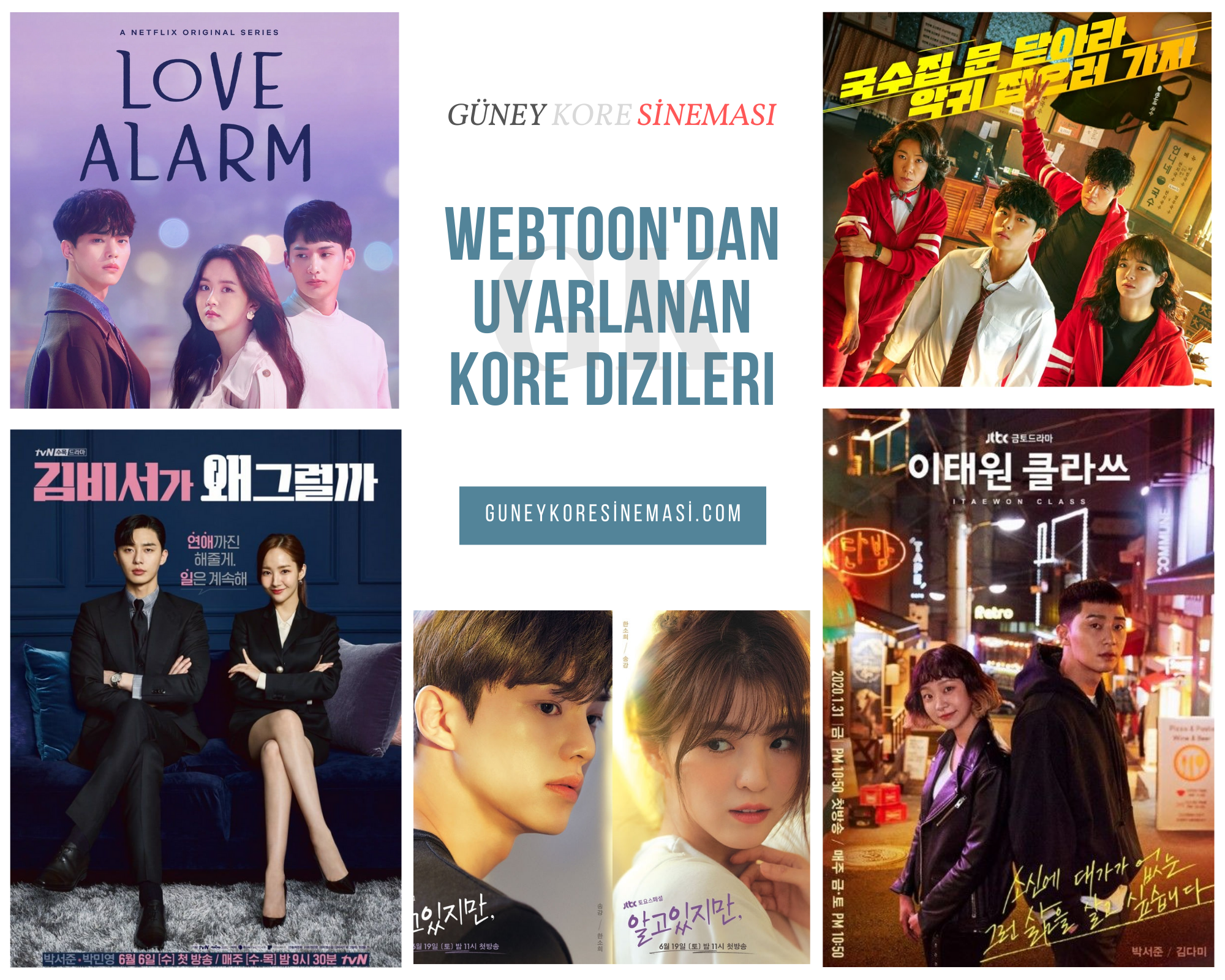 Webtoon'dan Uyarlanan Kore Dizileri